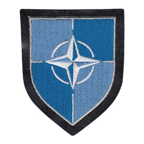 NATO Shield Leather Patch