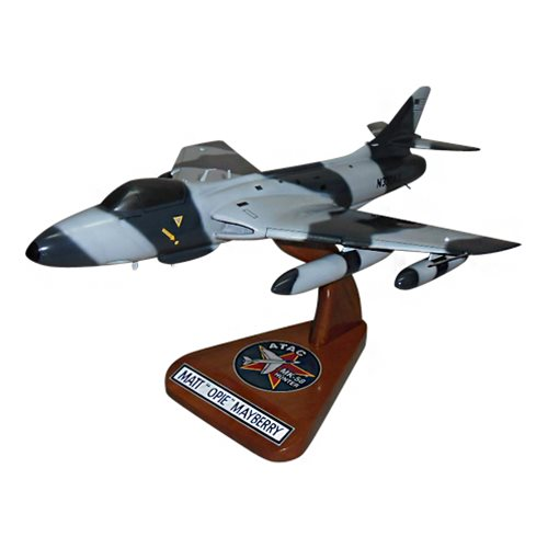 ATAC MK-58 Hawker Hunter Custom Airplane Model