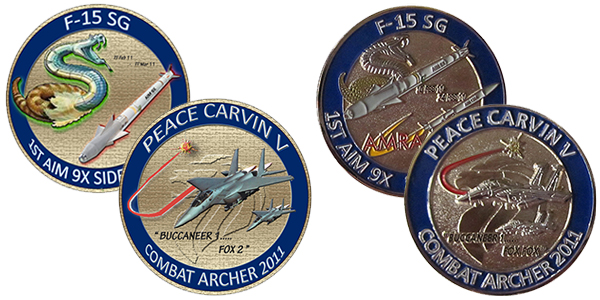 428th Fighter Squadron Challenge Coin
