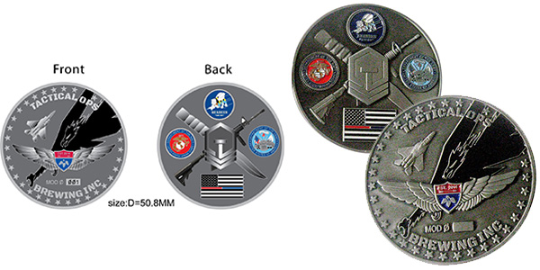 Tactical Operations Challenge Coin