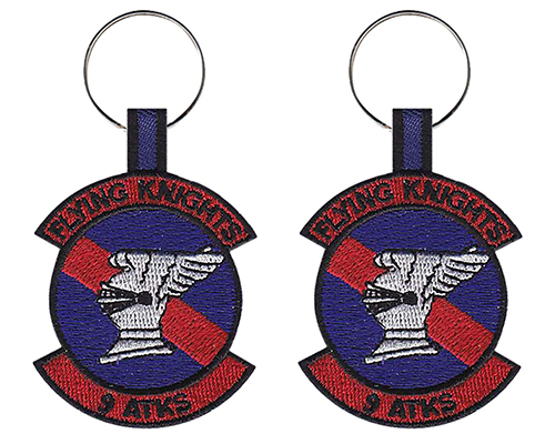 9th Attack Squadron - Flying Knights Keychain