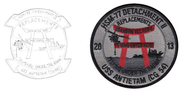 Helicopter Maritime Strike Squadron Seven Seven Patch