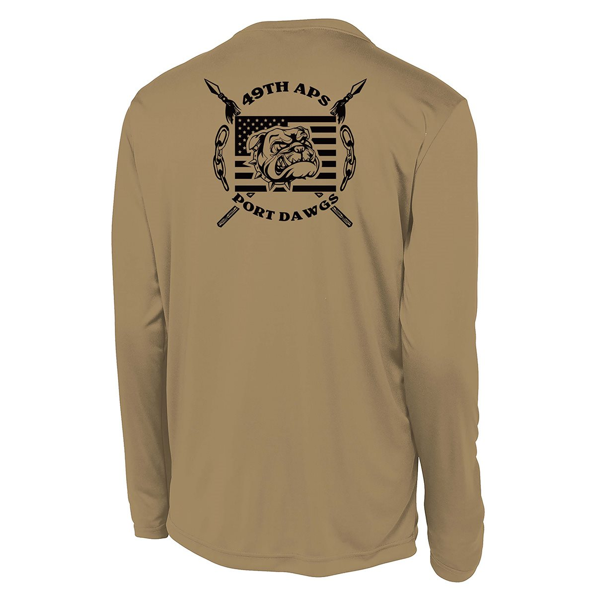 49 APS ST350LS Coyote Brown Shirt