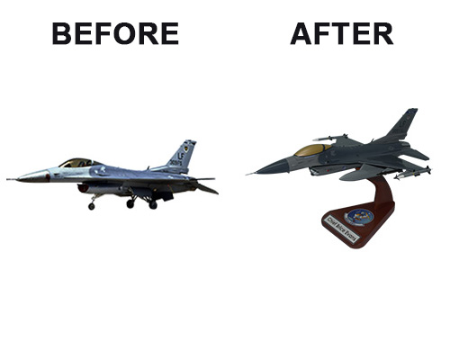 F-16 Custom Airplane Model