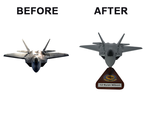 F-22 Raptor Custom Aircraft Model