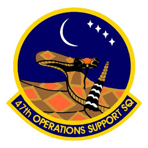 47th Operations Support Squadron (47 OSS) Patches