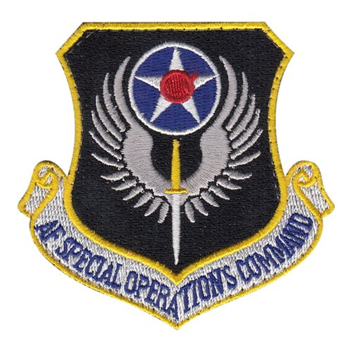 AFSOC Patches | Air Force Special Operations Command Patches
