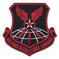 Red AFGSC Patch