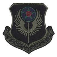 Subdued AFSOC Patches