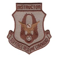 Instructor Desert AFRC Patches