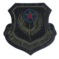 Subdued A-2 Jacket AFSOC Patches