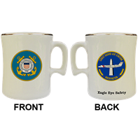 15oz Coffee USCG Ceramic Mugs