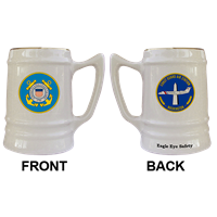 24oz Tankard USCG Ceramic Mugs