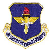 Color Air Education and Training Command Patch