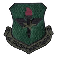 Subdued Air Education and Training Command Patch