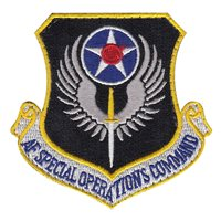 Color AFSOC Patches