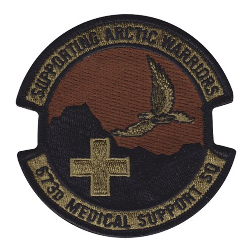 673 MDSS JBER U.S. Air Force Custom Patches