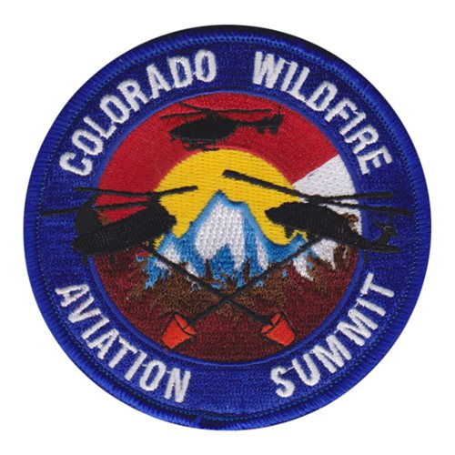 Colorado Wildfire Aviation Summit Civilian Custom Patches
