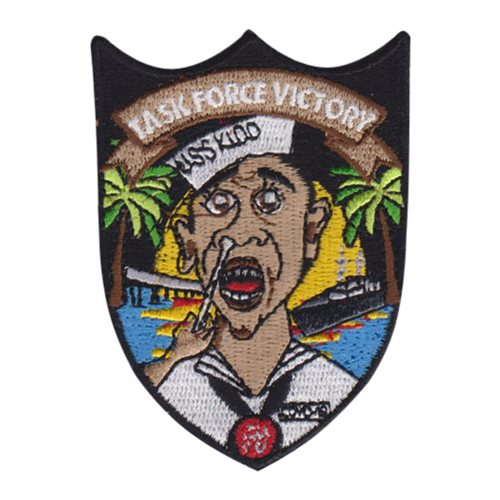 TF Victory U.S. Navy Custom Patches