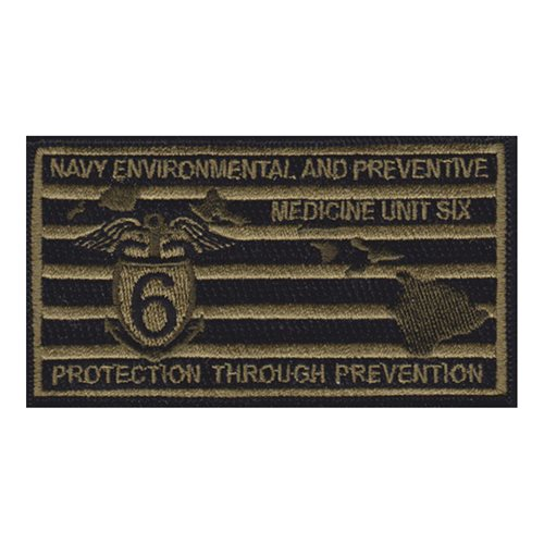 NEPMU U.S. Navy Custom Patches