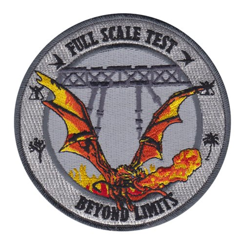 Full Scale Test Civilian Custom Patches