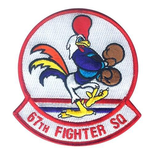67 FS Kadena AB, Japan U.S. Air Force Custom Patches