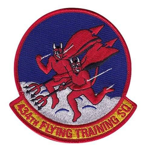434 FTS Laughlin AFB U.S. Air Force Custom Patches