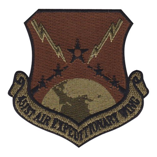 451 AEW 451 AEG International Custom Patches