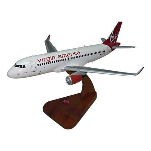 Virgin America Commercial Aviation Aircraft Models