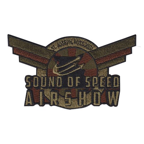 Sound of Speed Airshow Air Show Patches Custom Patches