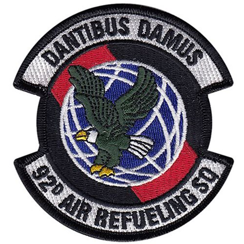 92 ARS Fairchild AFB, WA U.S. Air Force Custom Patches