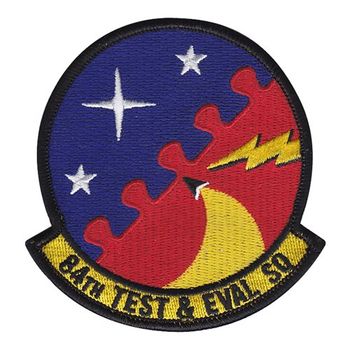 84 TES Eglin AFB, FL U.S. Air Force Custom Patches
