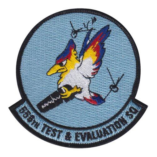 556 TES Creech AFB, NV U.S. Air Force Custom Patches