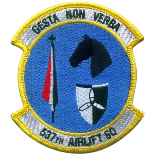 537 AS JBER U.S. Air Force Custom Patches