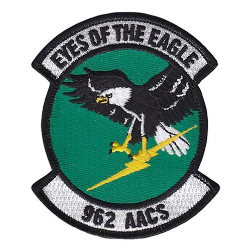 962 AACS JBER U.S. Air Force Custom Patches