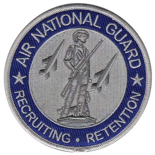 ANG Recruiting and Retention Air National Guard U.S. Air Force Custom Patches