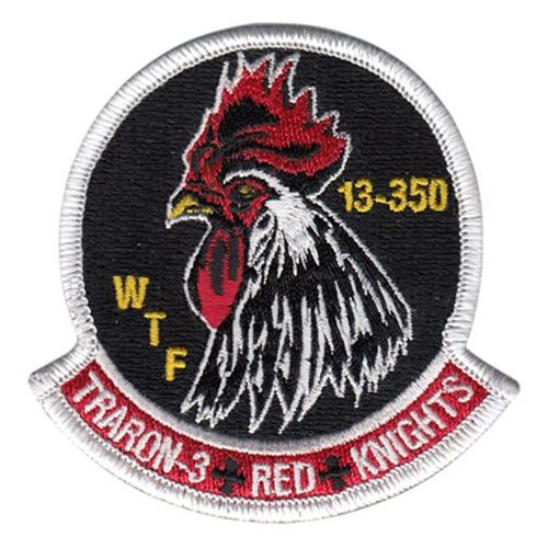 VT-3 NAS Whiting Field U.S. Navy Custom Patches