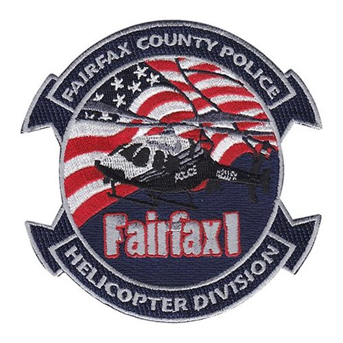Fairfax County Police Civilian Custom Patches