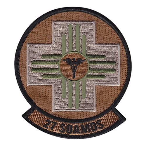 27 SOAMDS Cannon AFB, NM U.S. Air Force Custom Patches