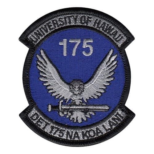 AFROTC Det 175 University of Hawaii Air Force ROTC ROTC and College Patches Custom Patches