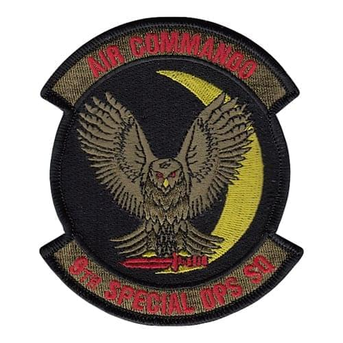 9 SOS Cannon AFB, NM U.S. Air Force Custom Patches