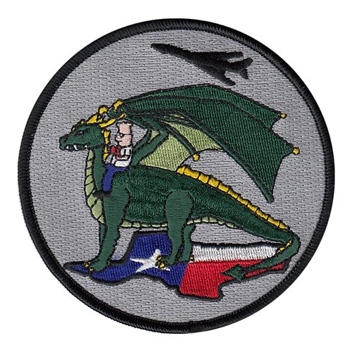 53 TMG Dyess AFB, TX U.S. Air Force Custom Patches