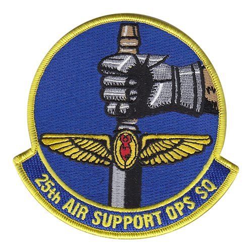 25 ASOS Wheeler Field U.S. Army Custom Patches