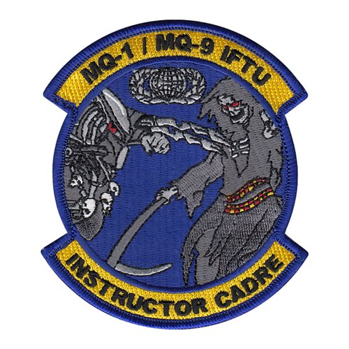 160 ATKS March ARB U.S. Air Force Custom Patches