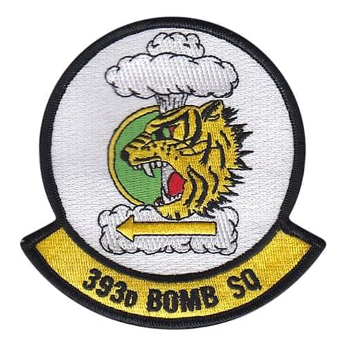 393 BS Whiteman AFB U.S. Air Force Custom Patches