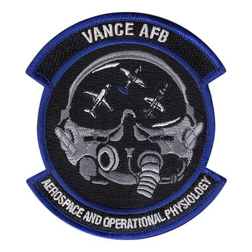 71 MDOS Vance AFB U.S. Air Force Custom Patches