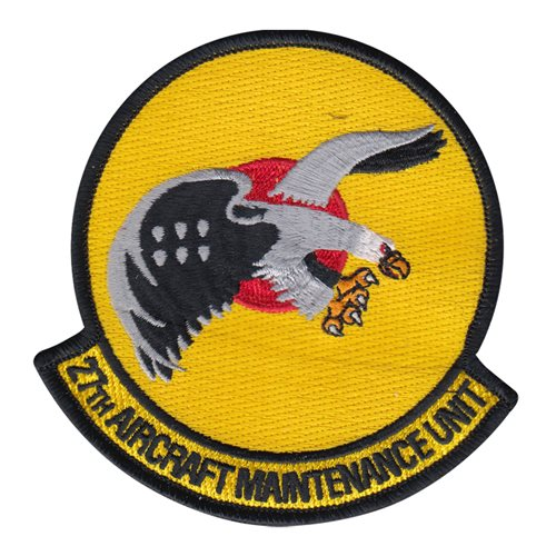 27 AMU Langley AFB, VA U.S. Air Force Custom Patches