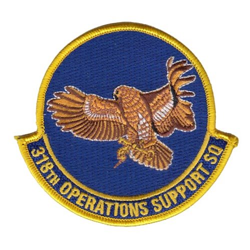 318 OSS Lackland AFB U.S. Air Force Custom Patches
