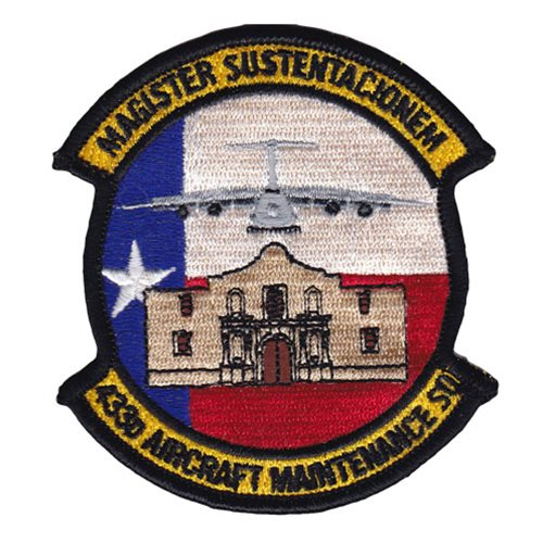 433 AMXS Lackland AFB U.S. Air Force Custom Patches