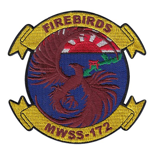 MWSS-172 USMC Custom Patches
